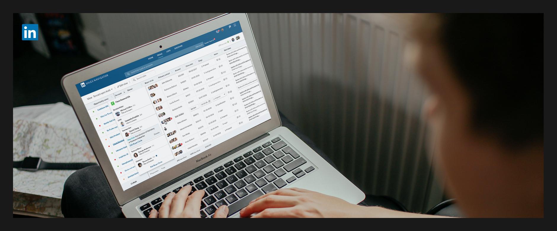 LinkedIn: Sales Navigator